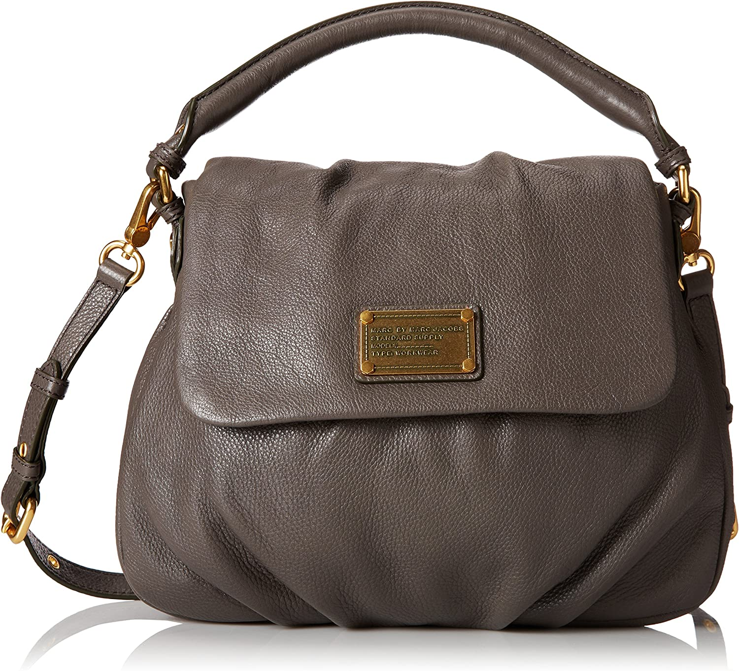 Marc By Marc Jacobs Classic Q Lil Ukita Womens Gray Leather ...