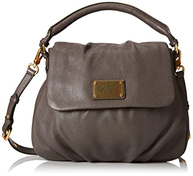 a2581ed651 Marc by Marc Jacobs Classic Q Lil Ukita Satchel Faded Aluminum One Size:  Amazon.in: Shoes & Handbags