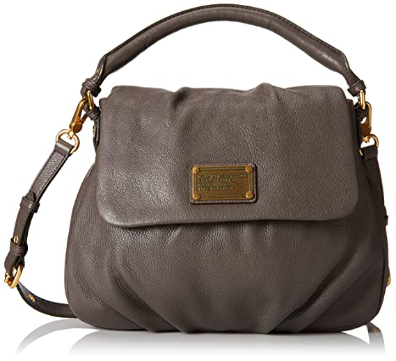 Marc by Marc Jacobs Classic Q Lil Ukita Satchel Faded Aluminum One Size c5b51aeec2f4