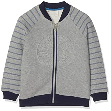 ac0e1380bc ESPRIT KIDS Jungen Strickjacke RM1702209, Grau (Mid Heather Grey 260), 92