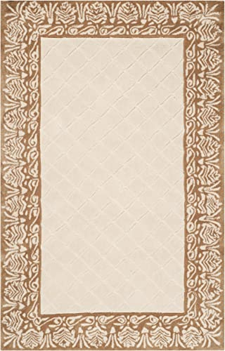 Safavieh Total Performance Collection TLP755A Ivory and Creme Area Rug, 2 x 3