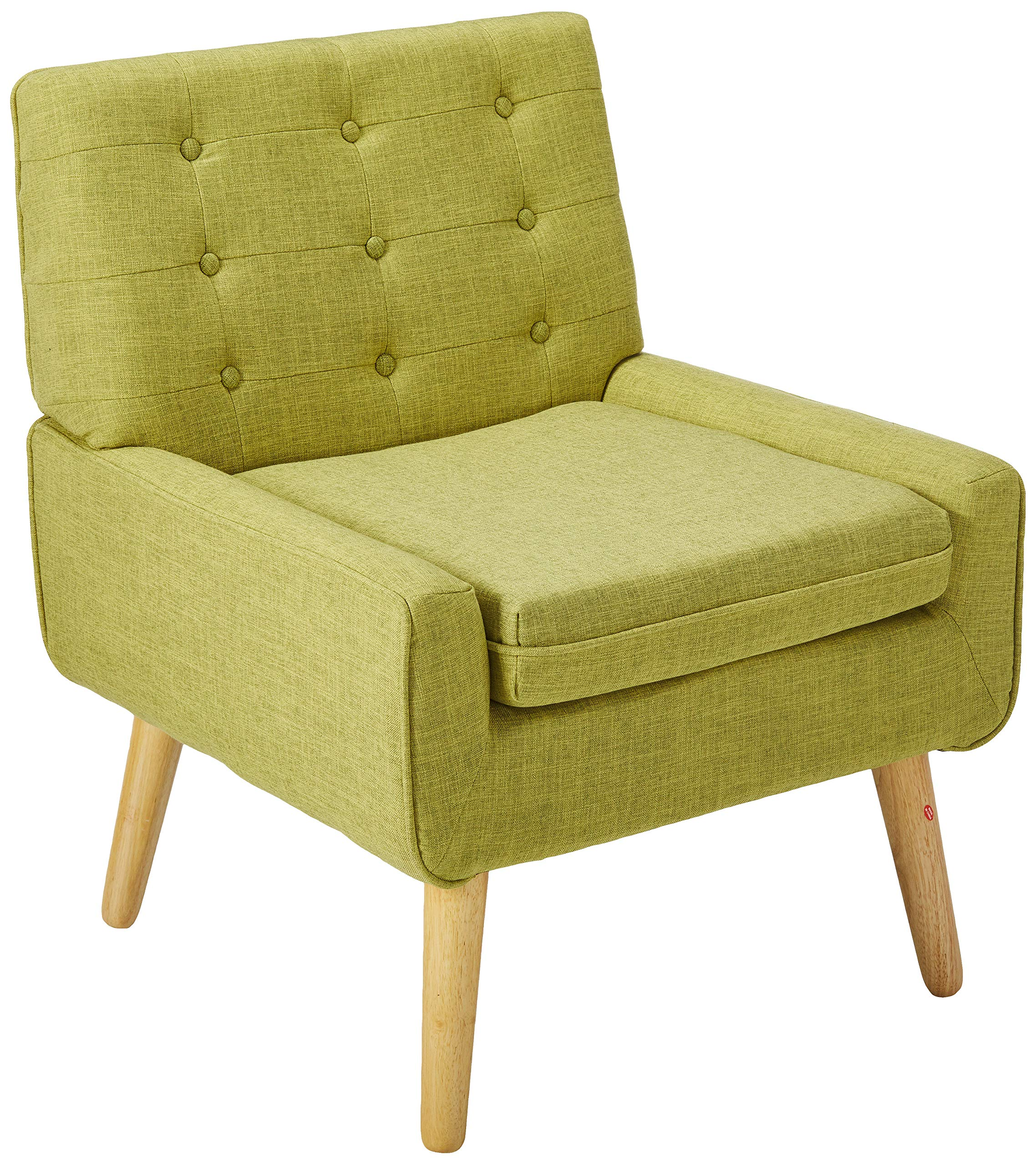 Christopher Knight Home Eilidh Buttoned Mid Century Modern Muted Green Fabric Chair by Christopher Knight Home