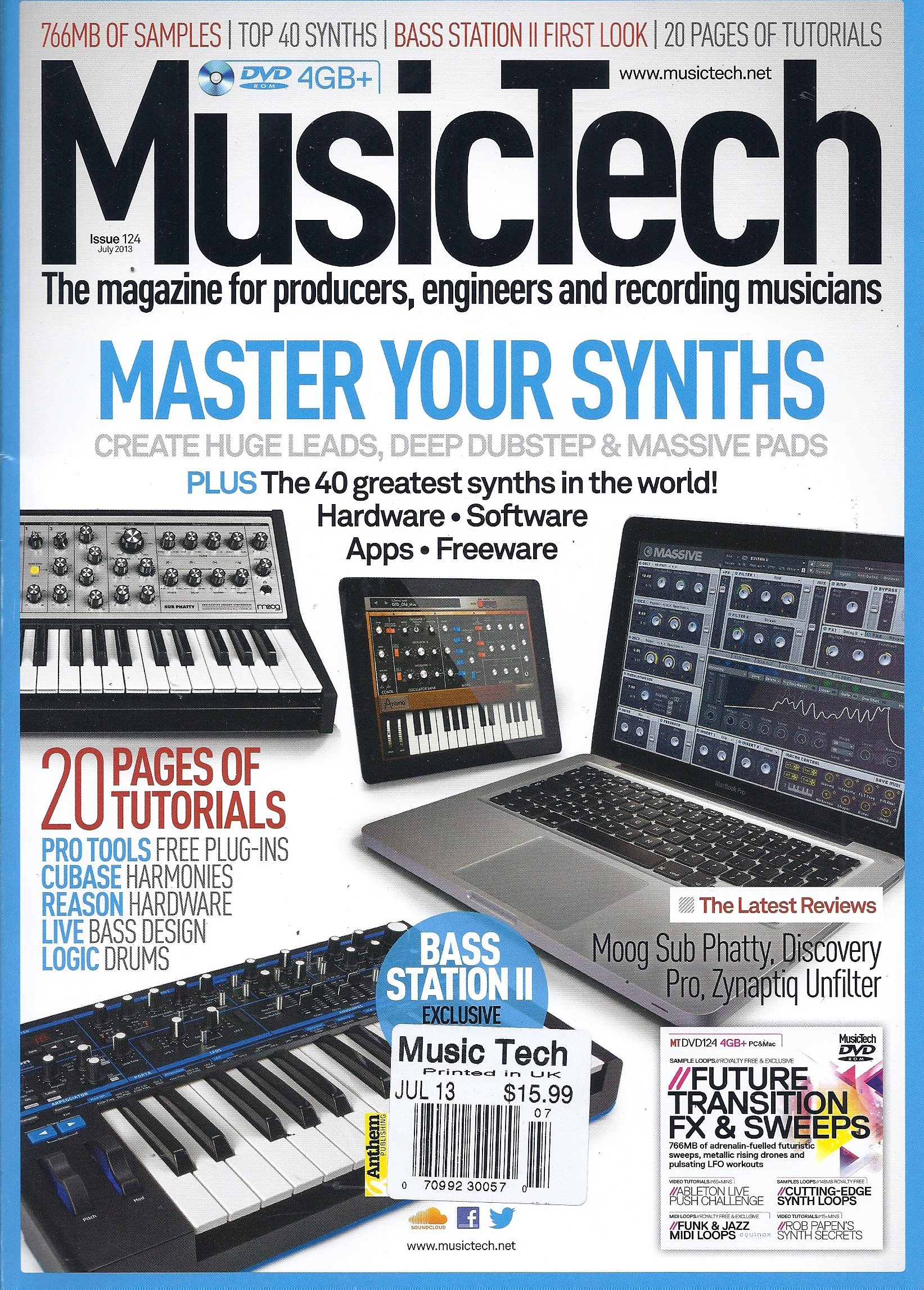 Music Tech (July 2013 (Master Your Synths)) ebook