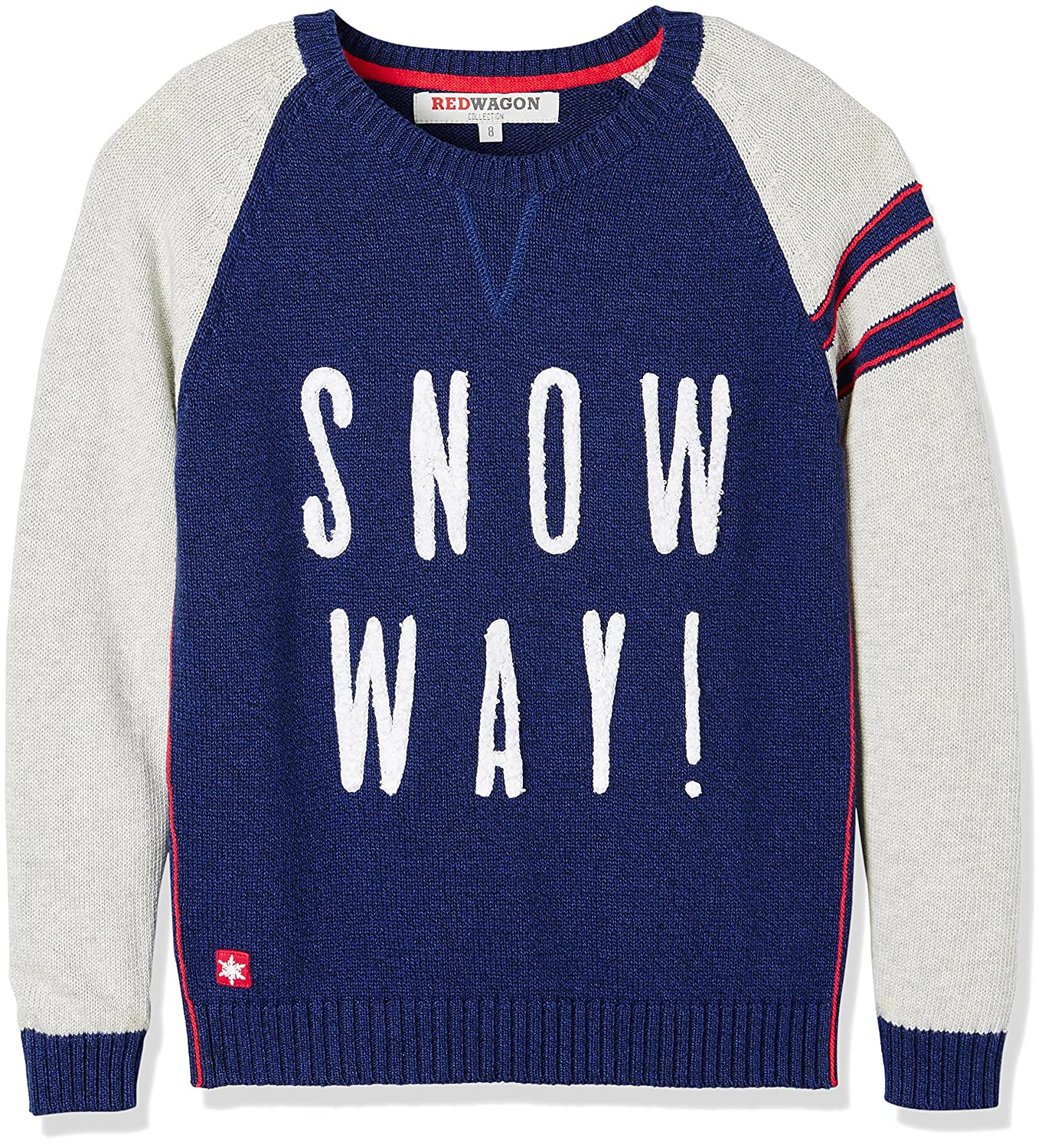 RED WAGON Boy's Snow Way Christmas Jumper 7437