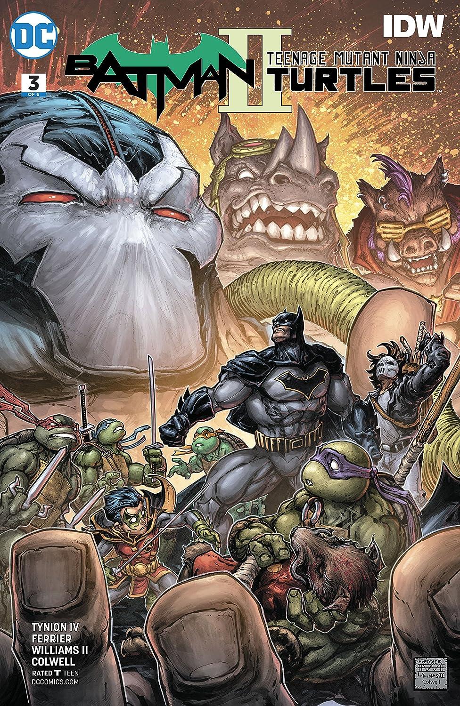 Batman/Teenage Mutant Ninja Turtles II (2017-2018) #3 ...