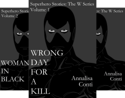 Superhero Stories- The W Series (8 Book Series) by  Annalisa Conti