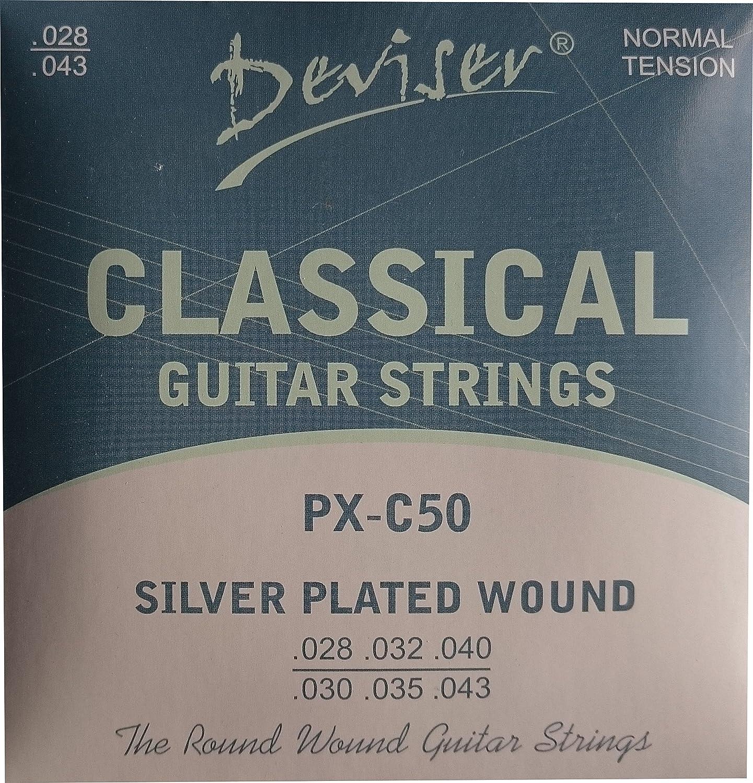 DEVISER klassischen Gitarre Saiten PX-C50