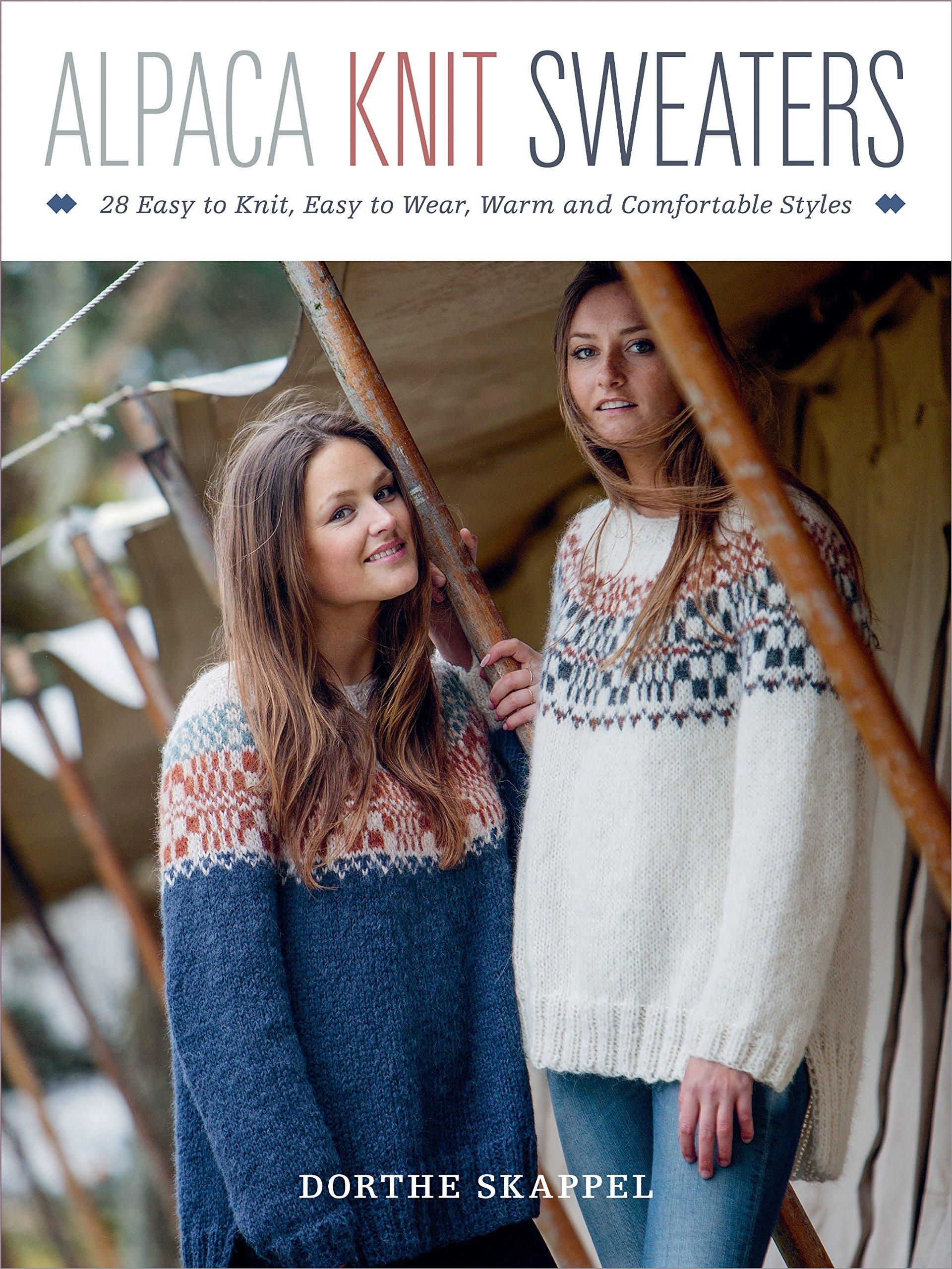 29f2af63f Alpaca Knit Sweaters  28 Easy-to-Knit