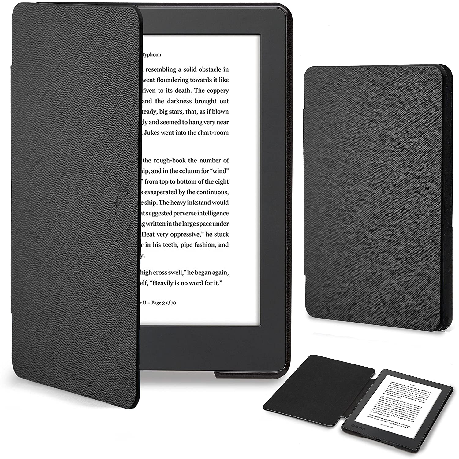 Forefront Cases Kobo Aura H2O Edition 2 Funda Carcasa Stand Smart ...