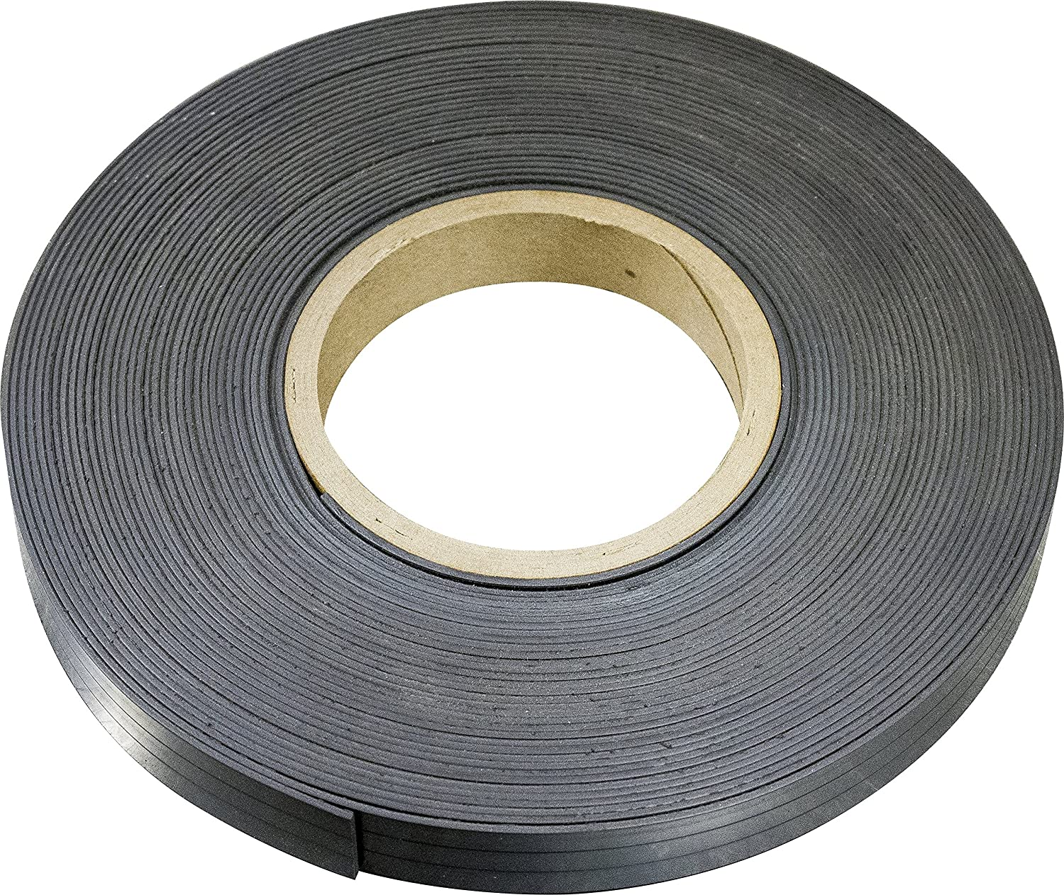 MAG-MATE MRN030X0050X025 Flexible Magnet Material without Adhesive, 0.030 x 1/2 x 25' 0.030 x 1/2 x 25' Industrial Magnetics Inc