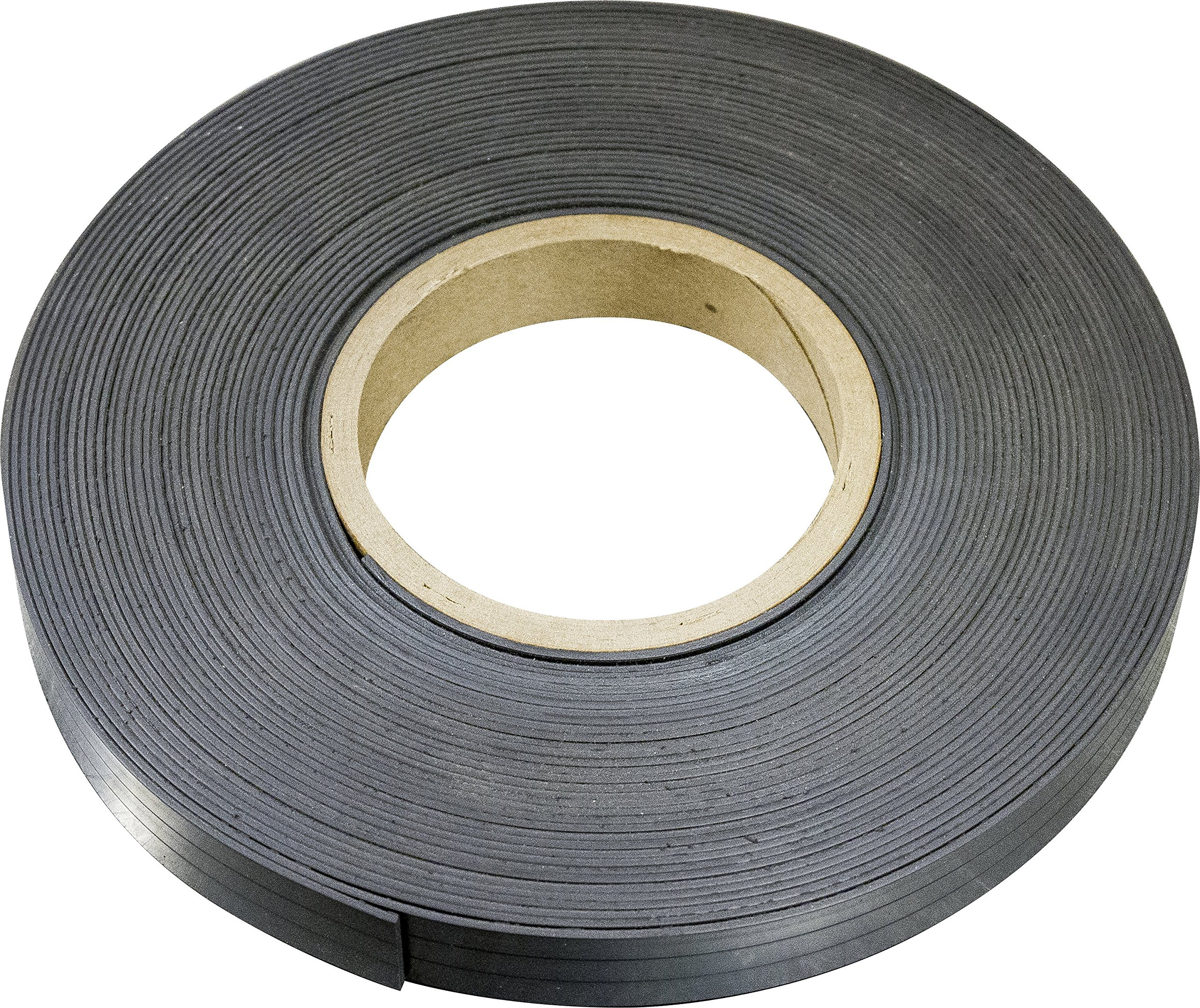MAG-MATE MRN120X0075X100 Flexible Magnet Material Without Adhesive, 0.120 x 3/4 x 100'