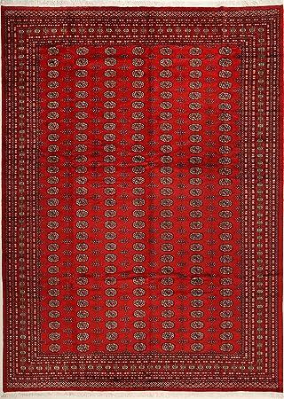 Carpetvista Pakistan Buchara 2ply Teppich 308x430 Orientalischer