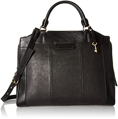 Amazon.com: Fossil Logan Work Bag, Black, One Size: Shoes