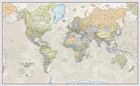 Poster Cartina Geografica Mondo.Cartina Mondo Torun Rsd7 Org