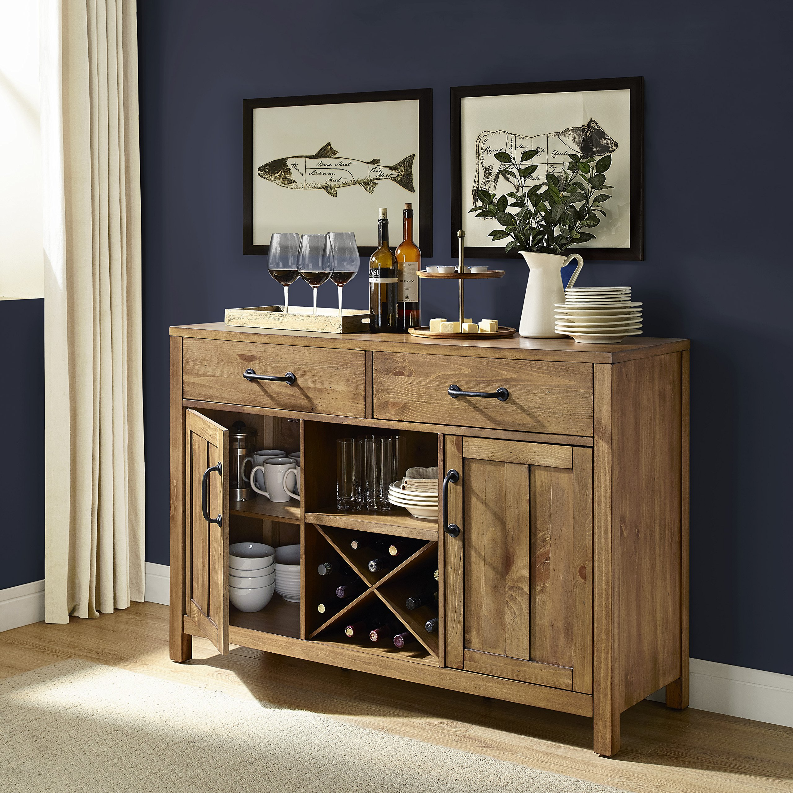 Crosley Furniture Roots Buffet Dining Room Storage - Natural by Crosley Furniture (Image #11)