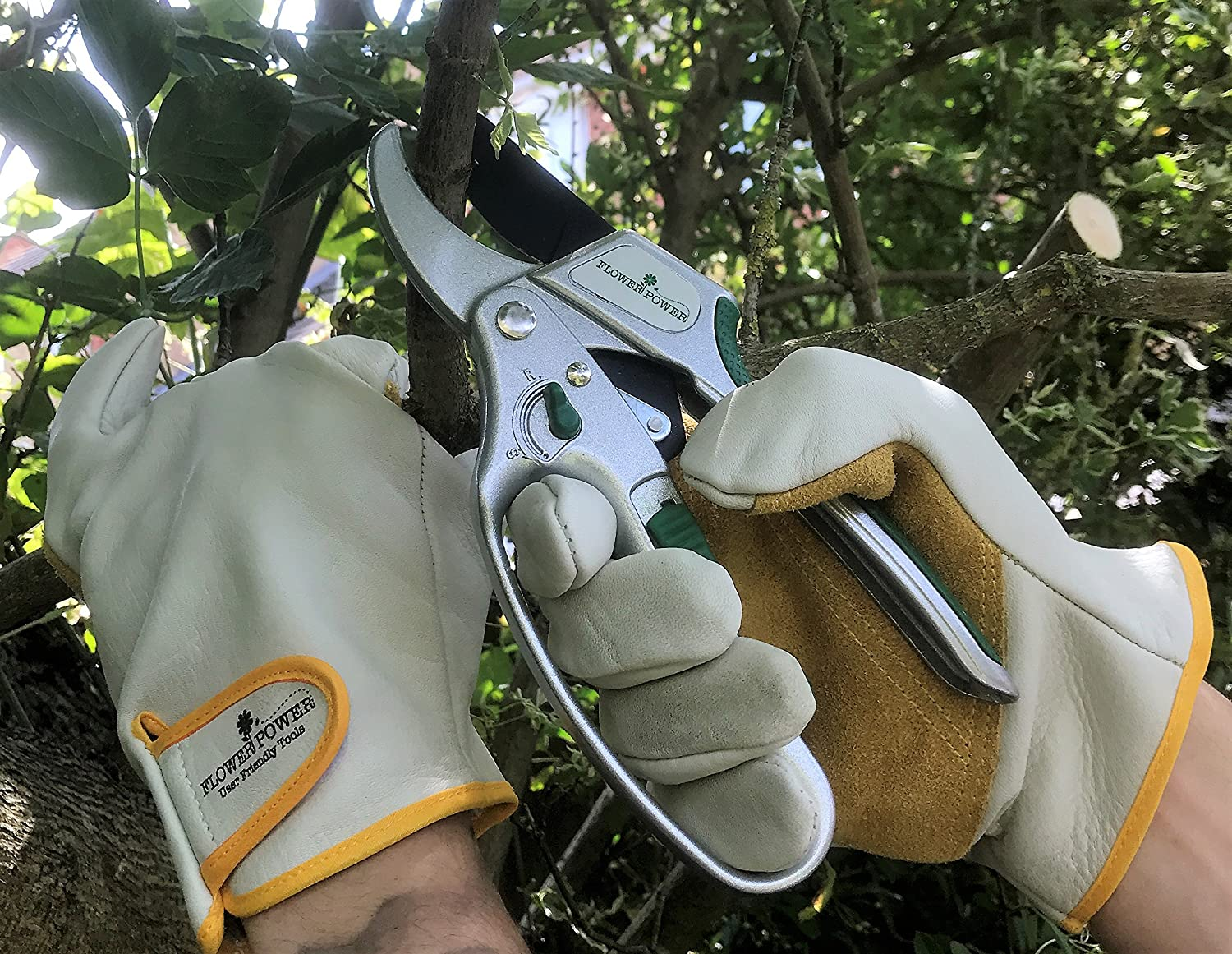 - Heavy Duty Work Gloves Perfect for Garden Tasks Medium or Large Agriculture and General Maintenance Medium Premier Leather Gardening Gloves for Men Perfect Gardening Gift for Men.
