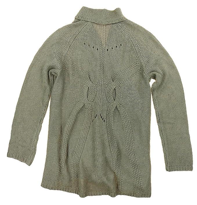 Matty M Mujer Mezcla De Lana ganchillo parte delantera abierta cardigan  Sweater  Amazon.es  Ropa y accesorios a8389f1e0e28