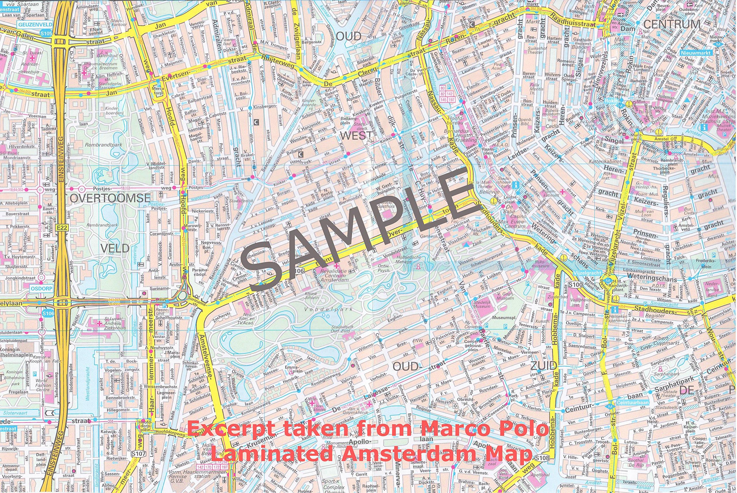 Marco Polo Amsterdam (Marco Polo City Maps): Amazon.de ...