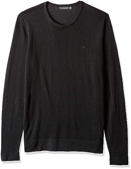 39e76b0f8 Amazon.com: J.Lindeberg Men's Classic Merino Wool Sweater: Clothing