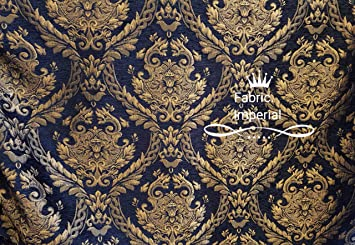 Amazon Com Damask Tapestry Chenille Fabric Upholstery Fabric 60