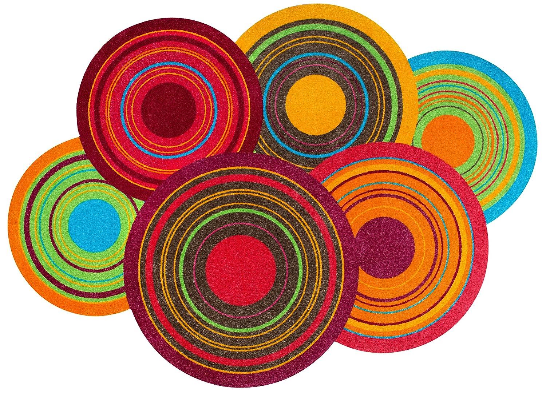 wash + dry - Tapis Cosmic Colours 70x120 - Coloré