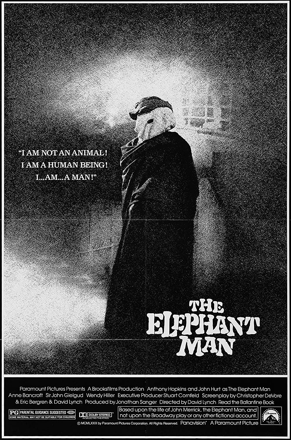 Image result for the elephant man poster