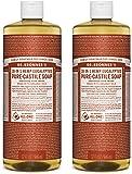 Dr. Bronner's Pure-Castile Liquid Soap Value Pack - Eucalyptus 32oz. (2 Pack)