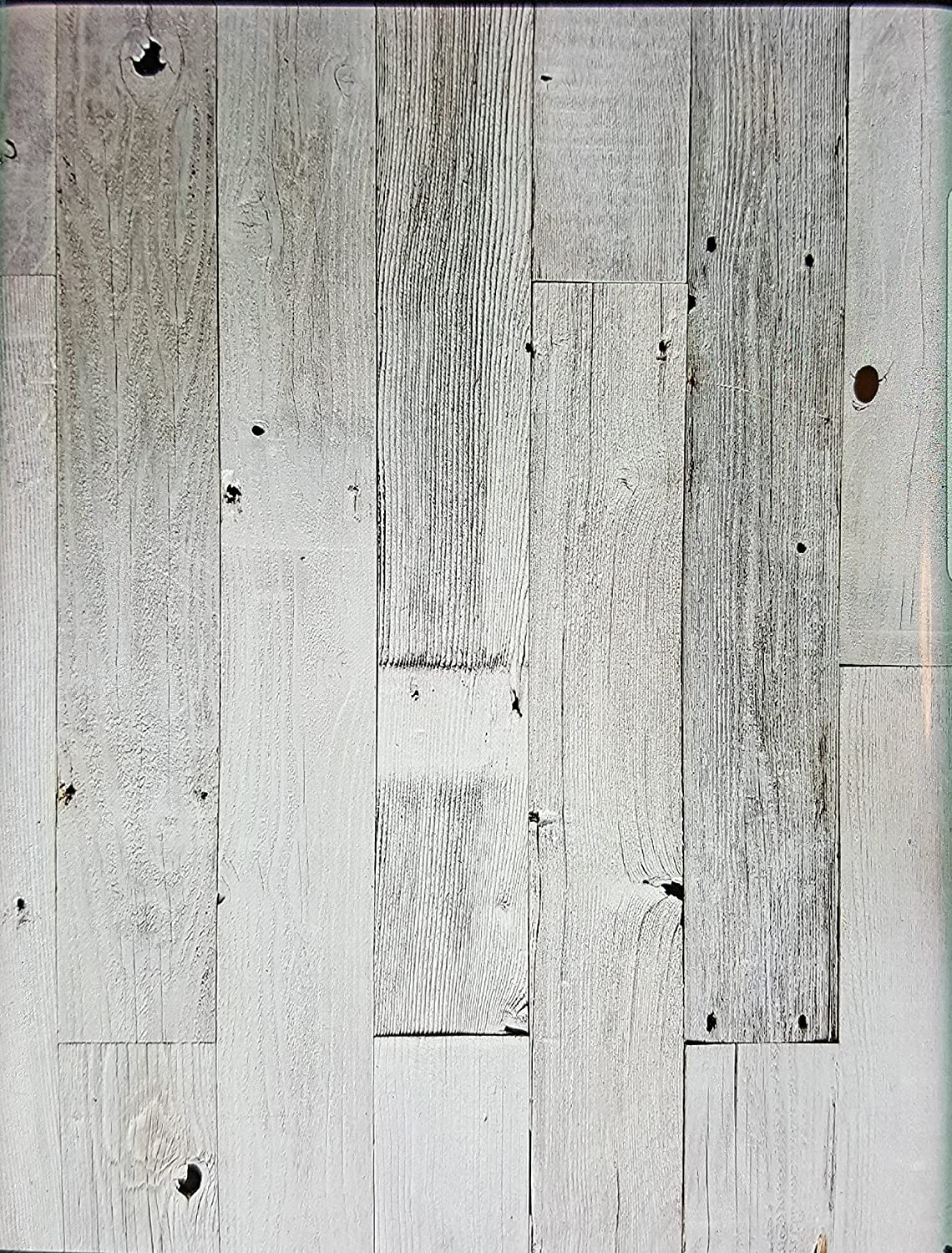 Amazon.com: Peel U0026 Stick Rustic Reclaimed Barn Wood White Washed Paneling,  Real Wood, Rustic Weathered Wall Planks   Easy Installation (20 Square  Feet): ...