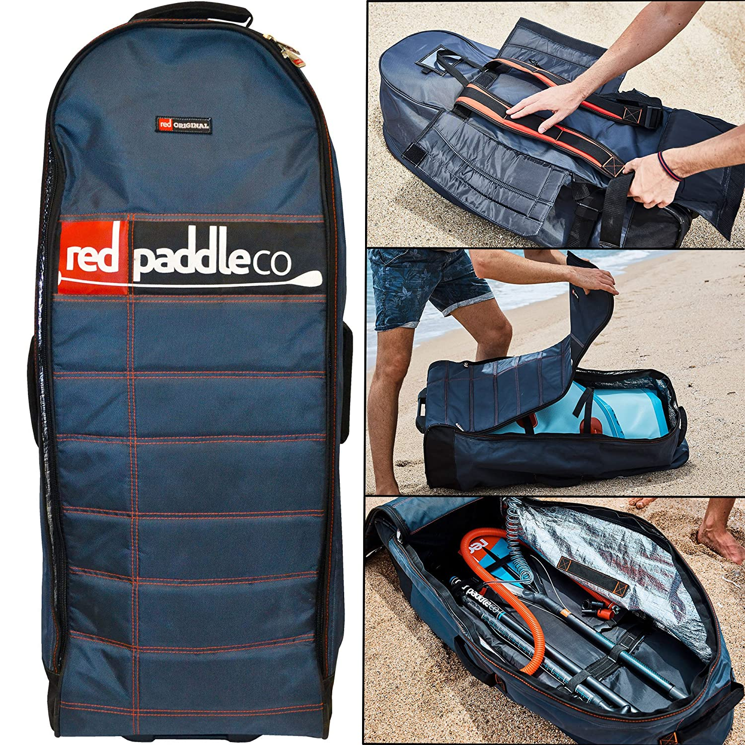Pump Bag Paddle /& Leash Red Paddle Co 2018 Ride 108 Inflatable Stand Up Paddle Board