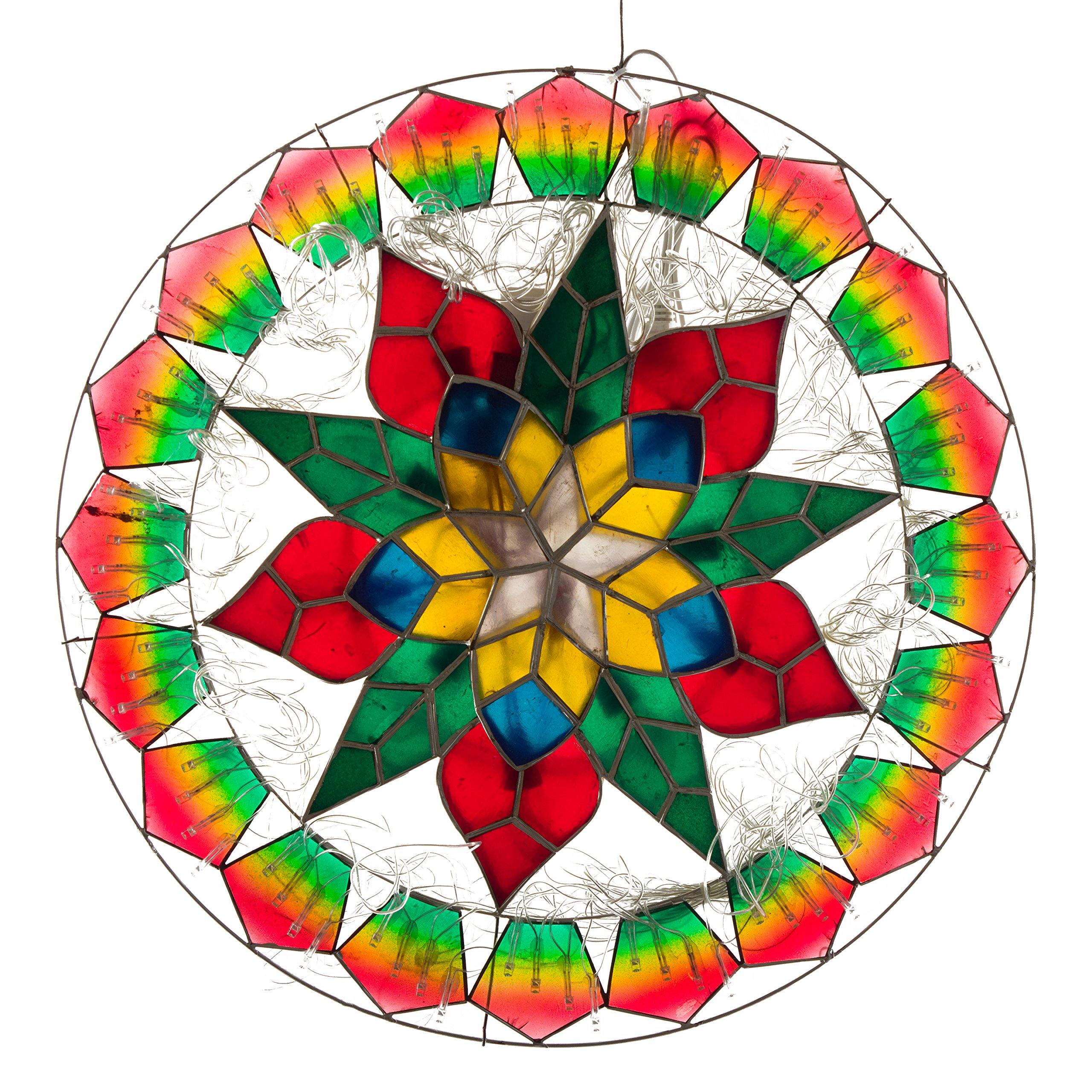 Gift Ko Handmade Ring/Sampaguita Parol Christmas Lantern 18 inch Colored