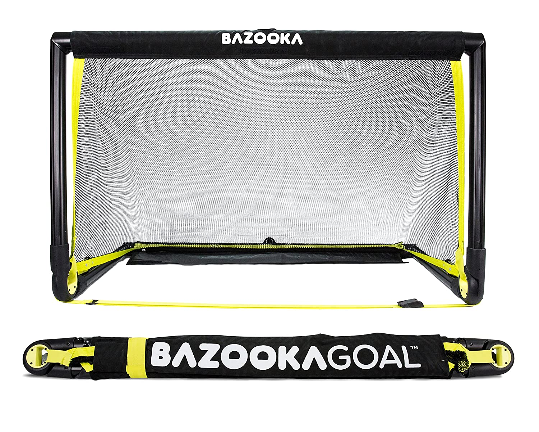 7e64bcdfc BazookaGoal Original Solid Frame Pop Up Goal - 4 x 2 ft Football Goal  (1.20x0.75m): Amazon.co.uk: Sports & Outdoors