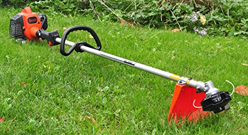 Tanaka 21.1cc 2-Stroke Gas Powered Straight Shaft Grass Trimmer