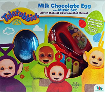 Teletubbies easter gift set chocolate egg music toys xylophone teletubbies easter gift set chocolate egg music toys xylophone tambourine negle Gallery