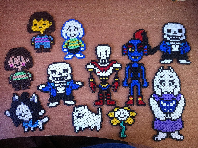 Pixel Art Hama Beads Undertale Personnage Amazonfr