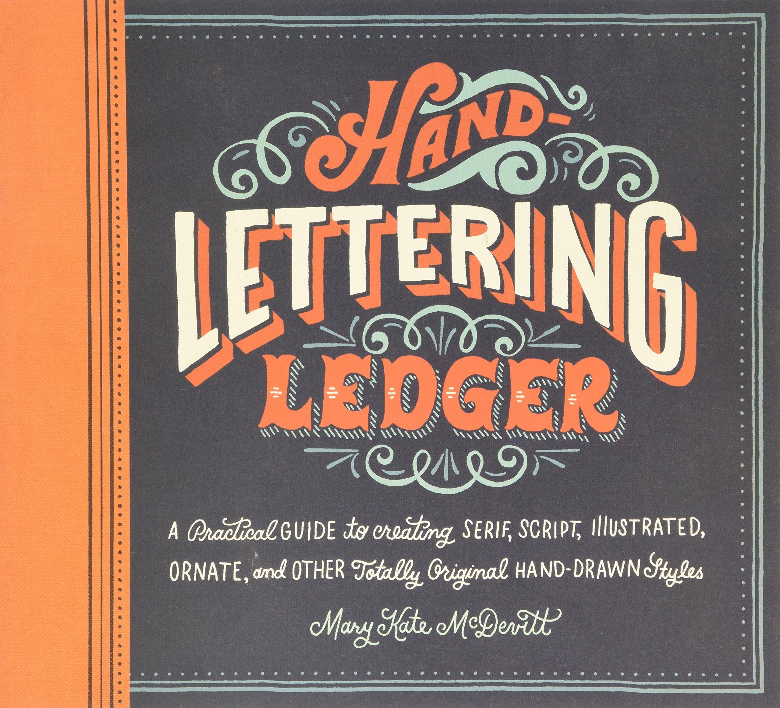 Hand Lettering Ledger Practical Illustrated Hand Drawn