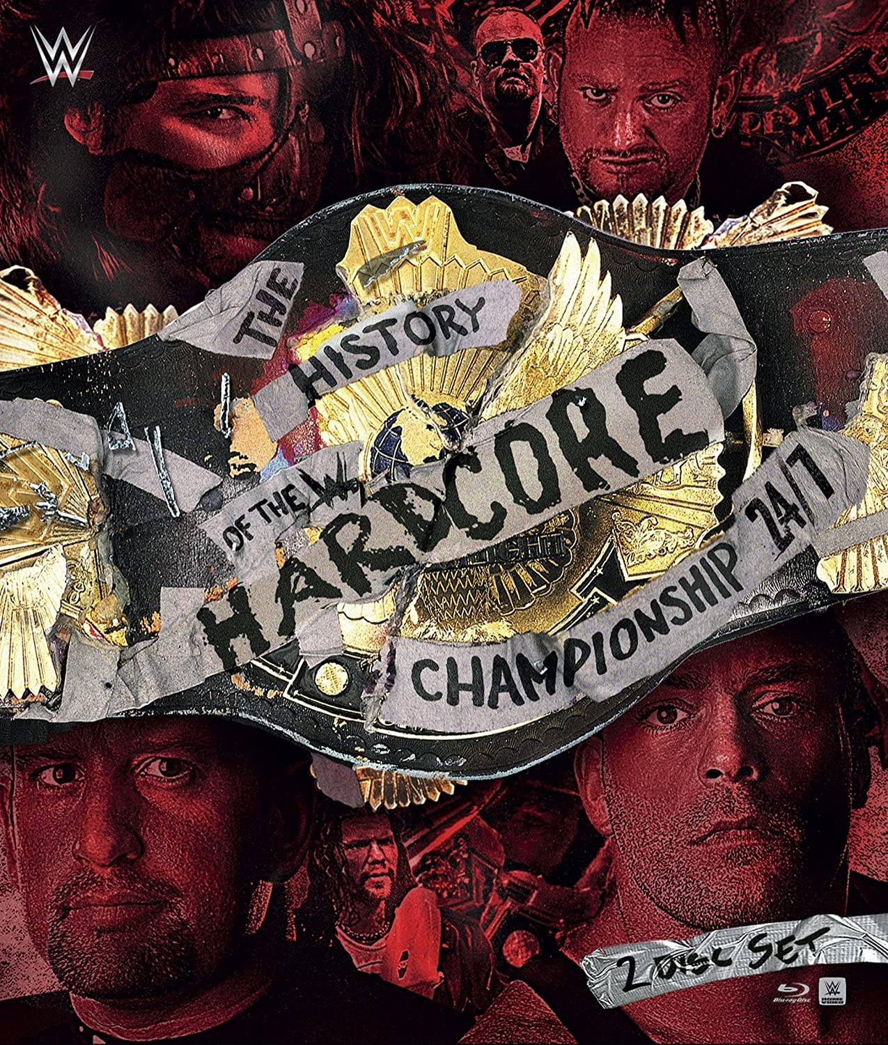 Wwe: History of Wwe Hardcore Championship: 24/7 [Blu-ray] [Import]<p>