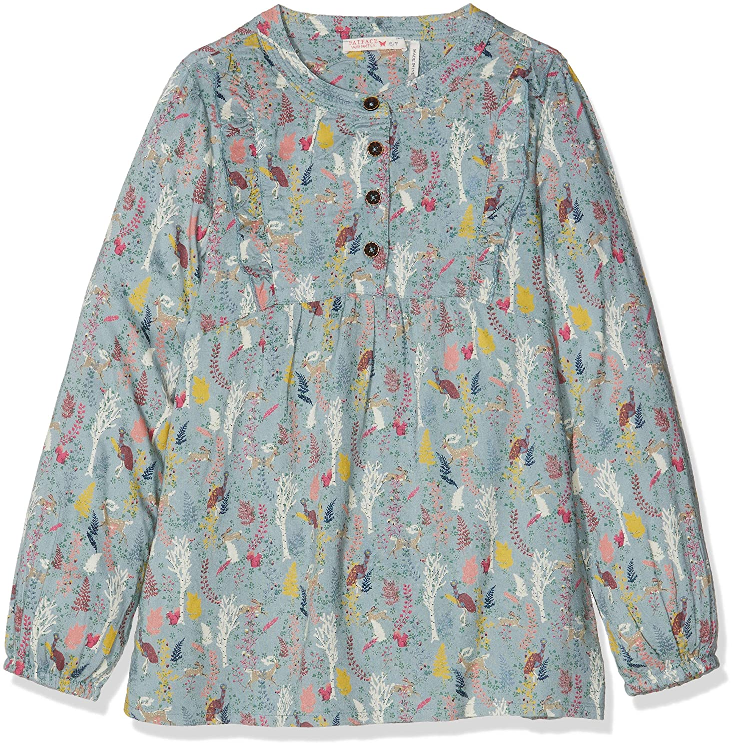 Fat Face Girl's Lucy Enchanted Forest Blouse 936749