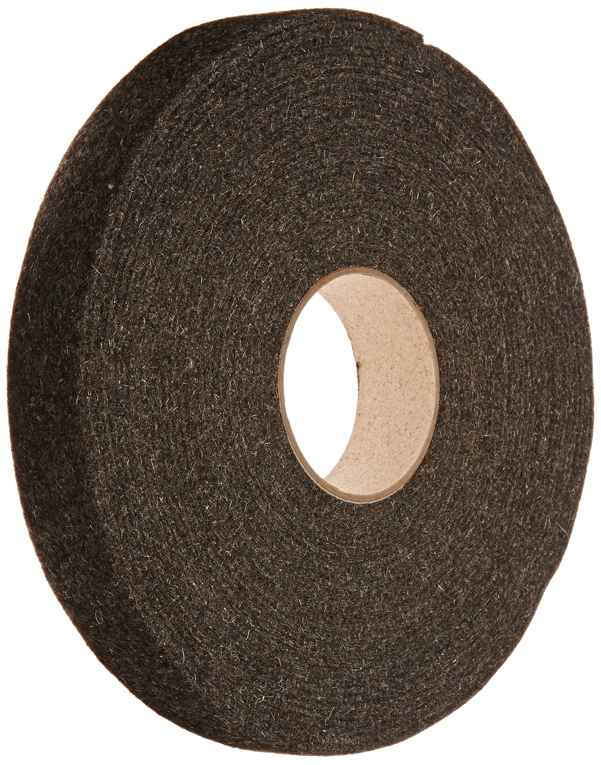 Grade F26 Pressed Wool Felt Strip, Gray, SAE J314, 1/8'' Thickness, 1'' Width, 25' Length (Pack of 1) by Small Parts