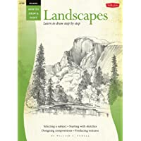 Drawing: Landscapes with William F. Powell: Learn to draw step by step