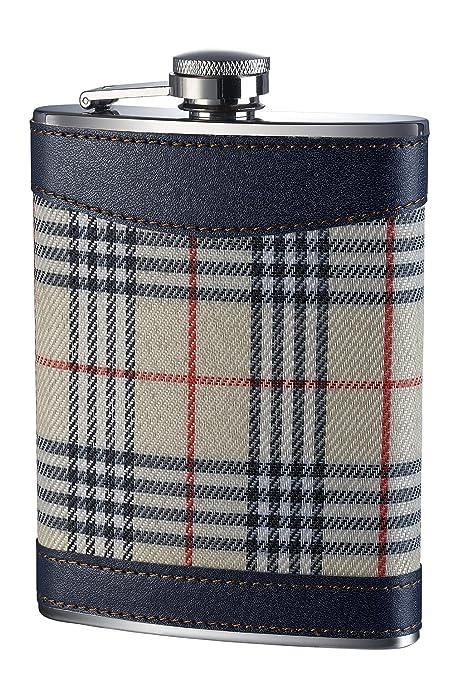 11 opinioni per Premier Housewares Fiaschetta in acciaio INOX con fantasia scozzese, 236 ml, 14