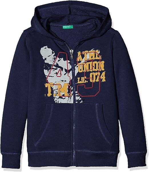 United Colors of Benetton Jungen Jacke Jacket W//Hood L//S