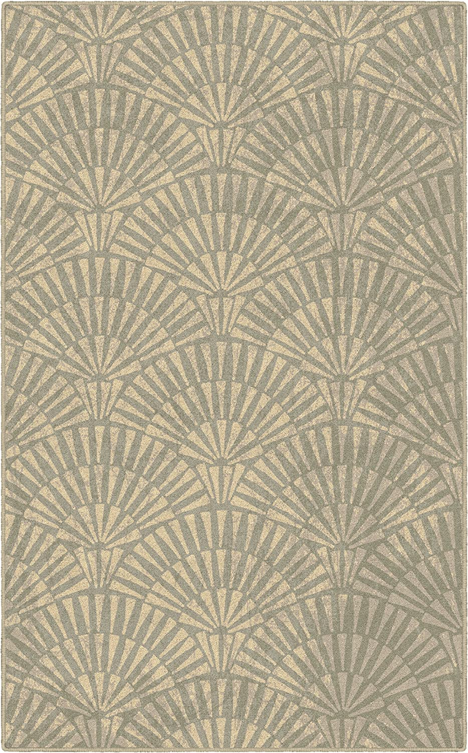 Brumlow MILLS Art Deco Home Indoor Area Rug with Contemporary Print Pattern for Living Room Decor, Dining Room, Kitchen Rug, or Bedroom, 2'6