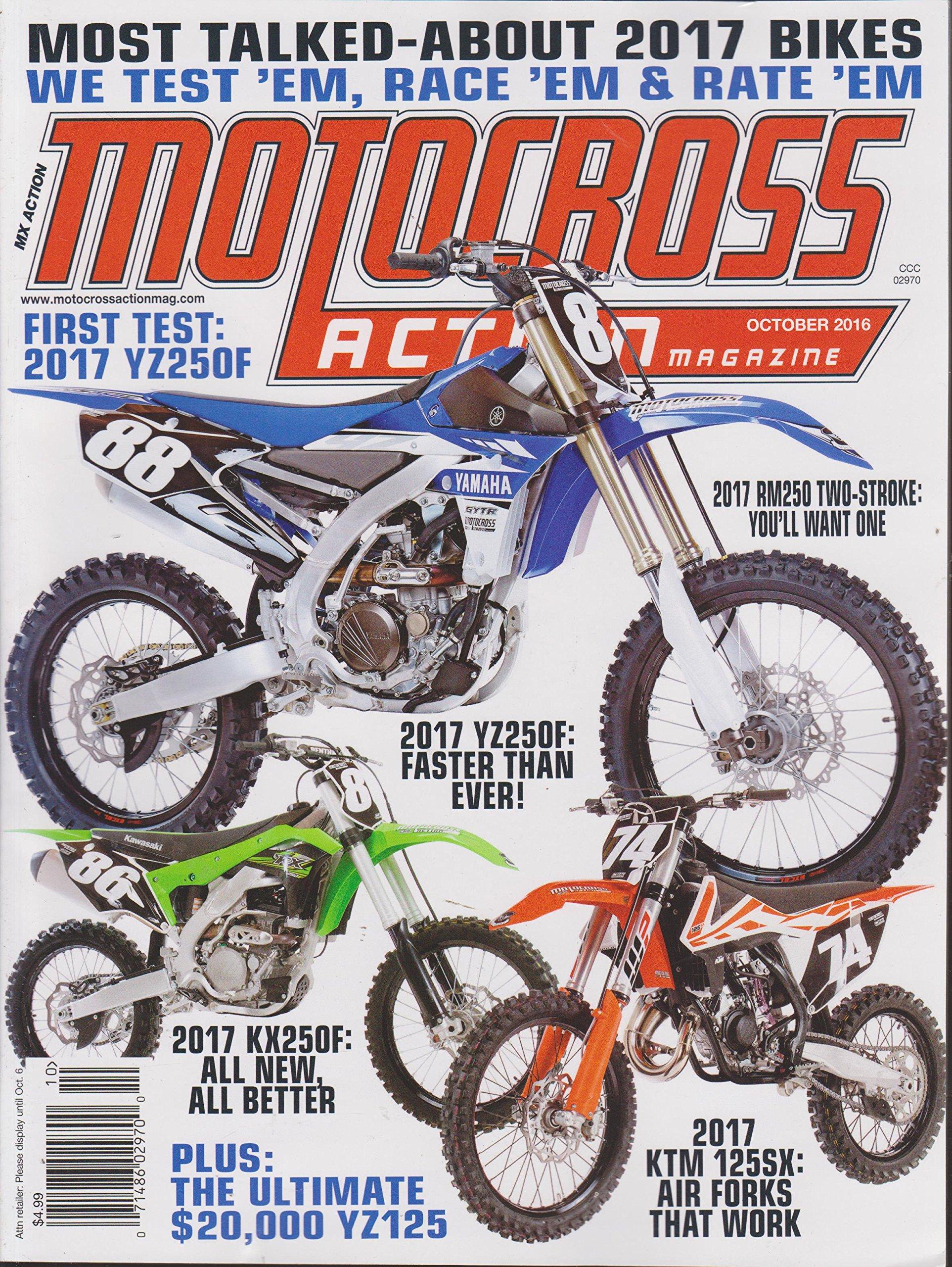Download Motocross Action Magazine October 2016 pdf epub
