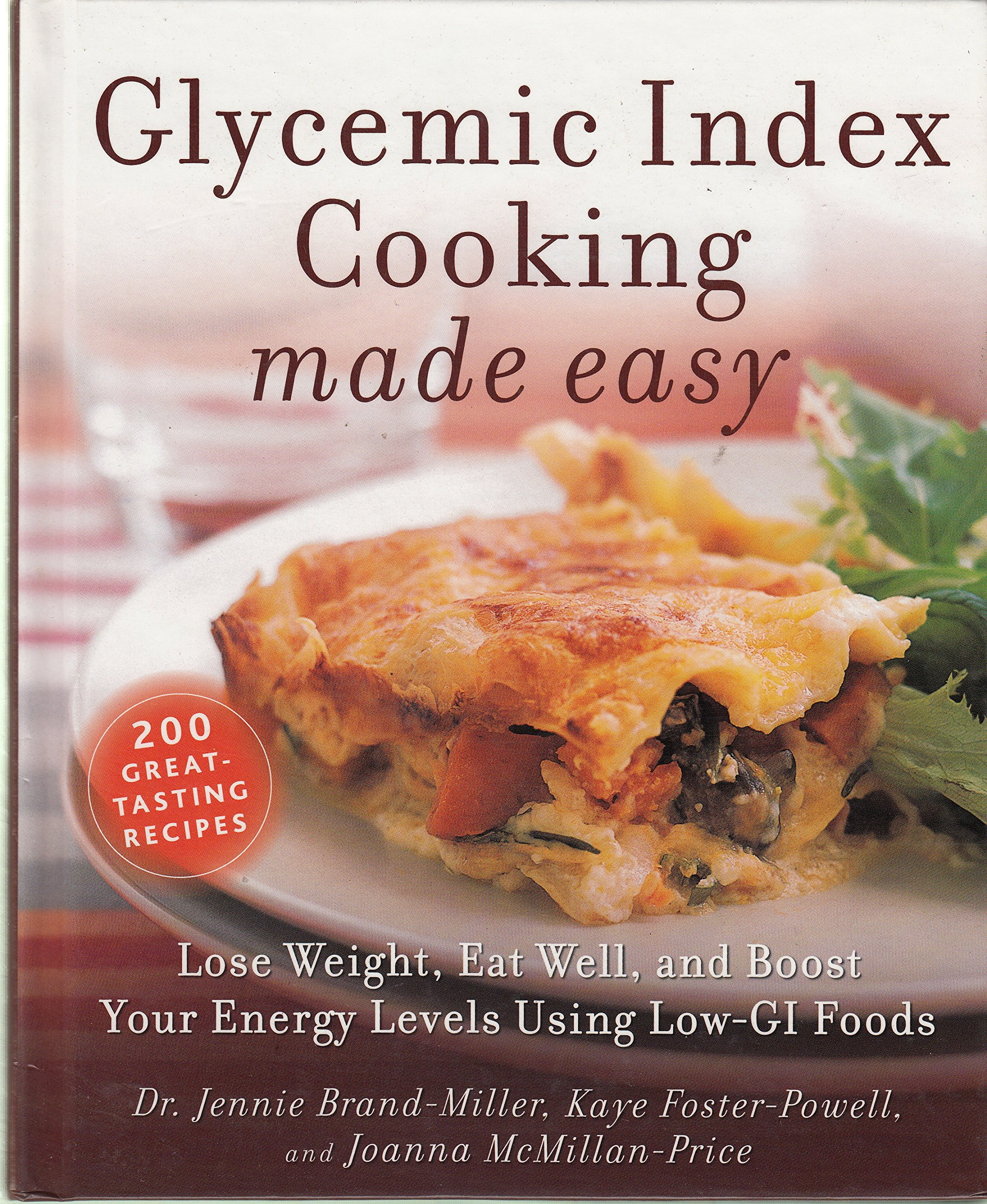 Glycemic Index Cooking Made Easy pdf