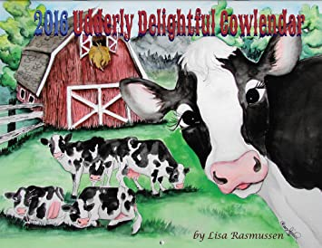 Cows Cowlendar Wall Calendar 2019 Animals