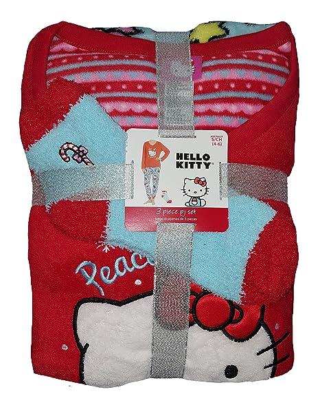 Amazon.com: Fashion por Sanrio Hello Kitty Rojo 3 Piezas ...