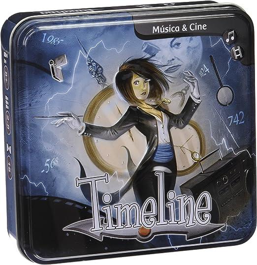 Asmodee- Timeline música y Cine (TIM05ES): Amazon.es: Juguetes y ...