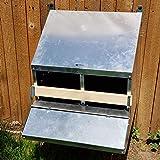 SKA Urban-Egg Roll Away Chicken Nest Box with