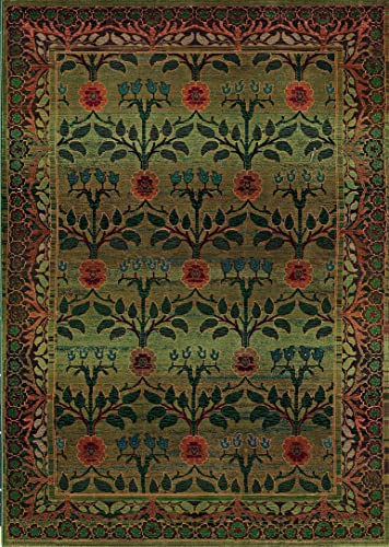 Oriental Weavers 450G Area Rug, 4-Feet by 5-Feet 9-Inch