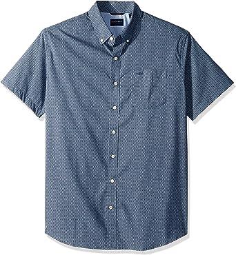 dockers Big and Tall - Camisa de Manga Corta para Hombre Searcy Ocean. XXL: Amazon.es: Ropa y accesorios
